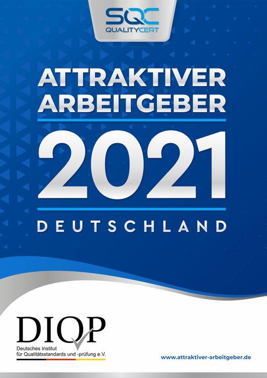 Top Arbeitgeber Deutschland 2021