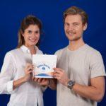 Katia Helf und Philip von Have, die Gründer:innen von Blue Farm