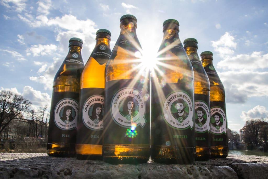 Quartiermeister Bierflaschen